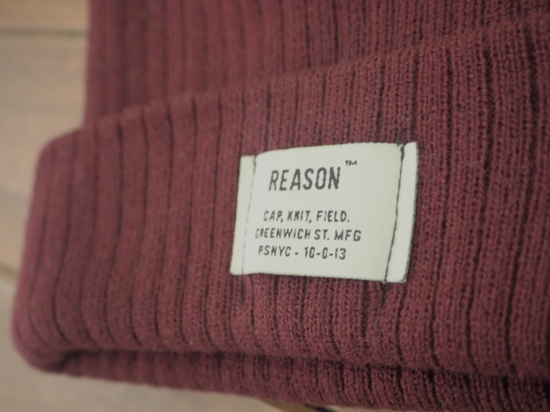 Burgundy Beanie - Urban Outfitters, similar here