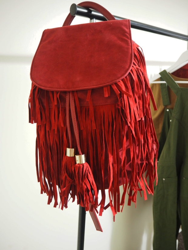 Tassel Backpack - Pretty Little Thing